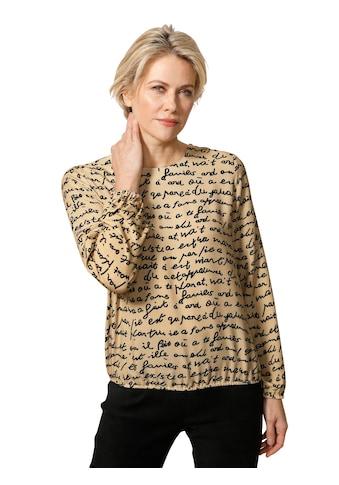 Mona Schlupfbluse, mit Motivdruck kaufen