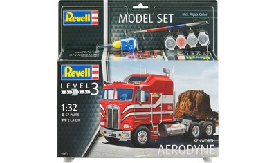 Revell® Modellbausatz »Model Set, Kenworth COE Aerodyne«, (Set), 1:32, Made in Europe kaufen