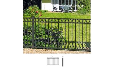 GAH Alberts Metallzaun »Circle«, Anbauset 100x200 cm, 1 Pfosten zum Einbetonieren kaufen