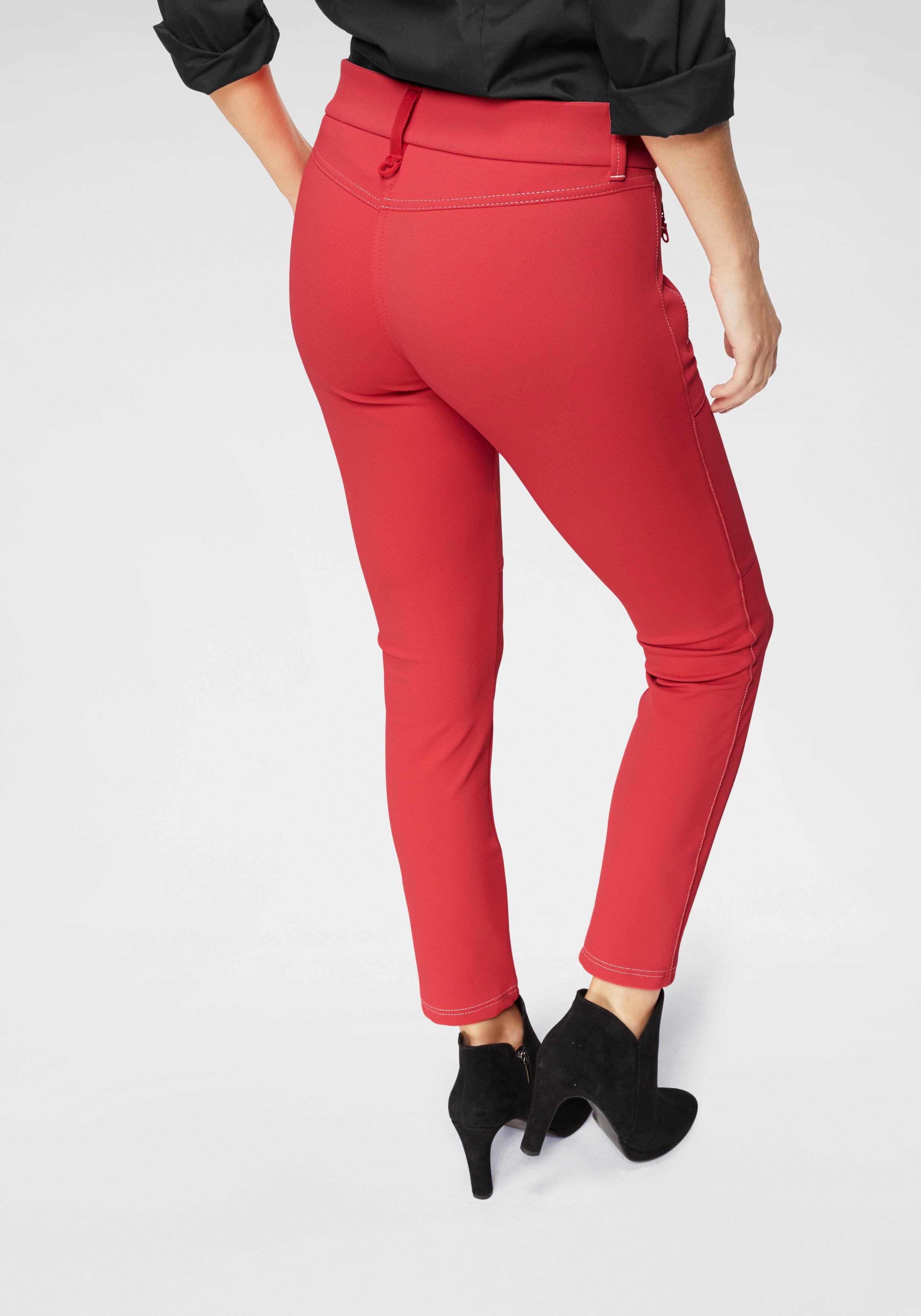 MAC 7/8-Hose Vision Pants | Bekleidung > Hosen > 7/8-Hosen | Rot | Mac