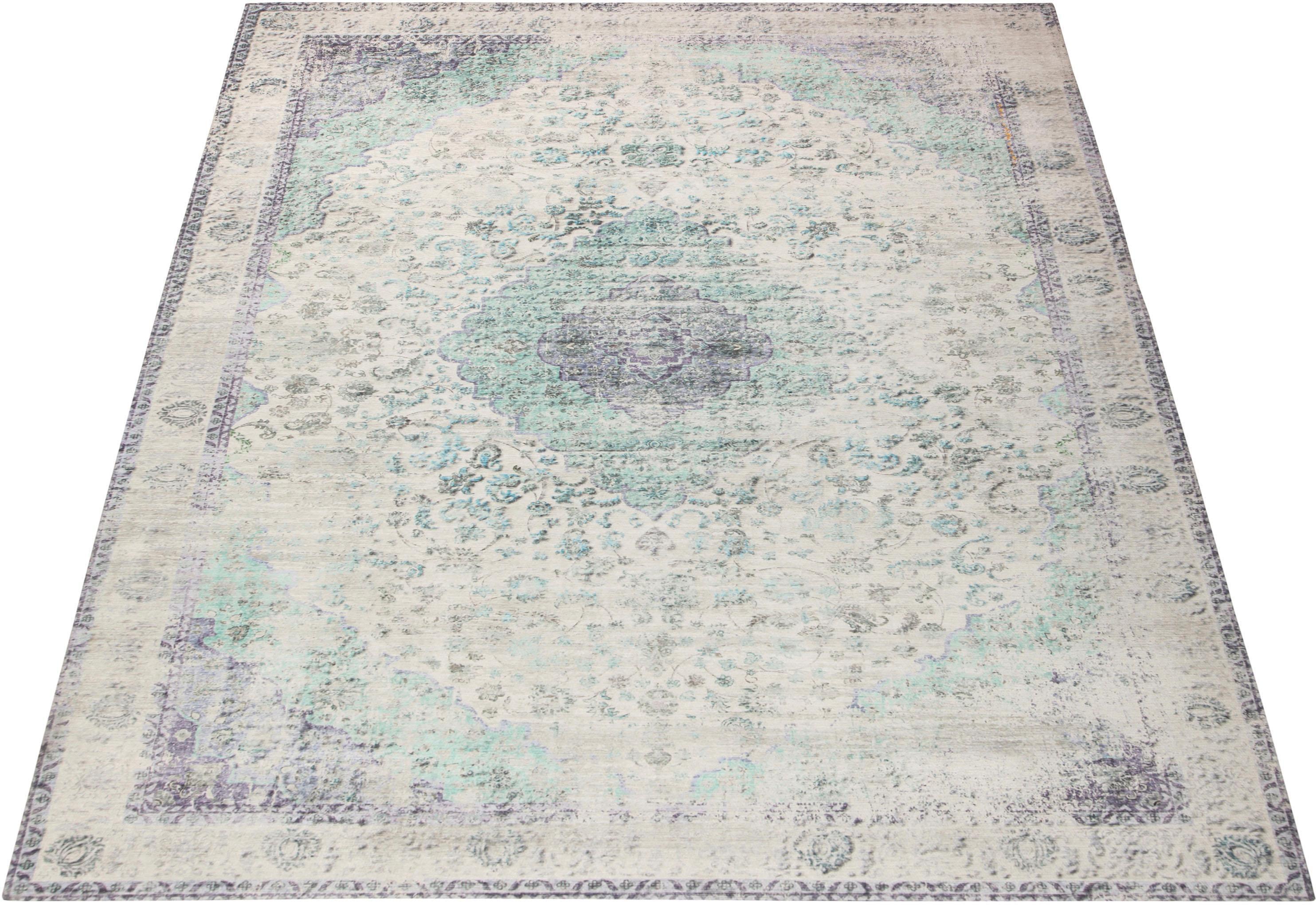Teppich Dario Leonique rechteckig Höhe 9 mm maschinell gewebt