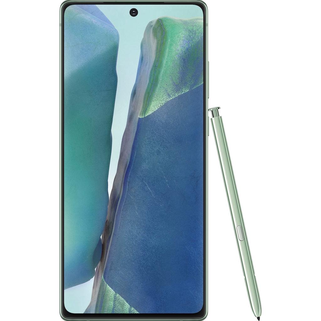 """Samsung Smartphone »Galaxy Note20«, (16,95 cm/6,7 """" 256 GB Speicherplatz, 64 MP Kamera)"""