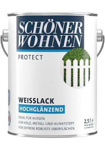 SCHÖNER WOHNEN-Kollektion Weißlack »Protect«, hochglänzend, 2500 ml, weiß kaufen