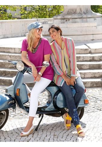 MIAMODA Jeans mit Paillettenapplikation kaufen