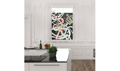 Fensterfolie, POMPÖÖS by Lichtblick, blickdicht, strukturiert kaufen