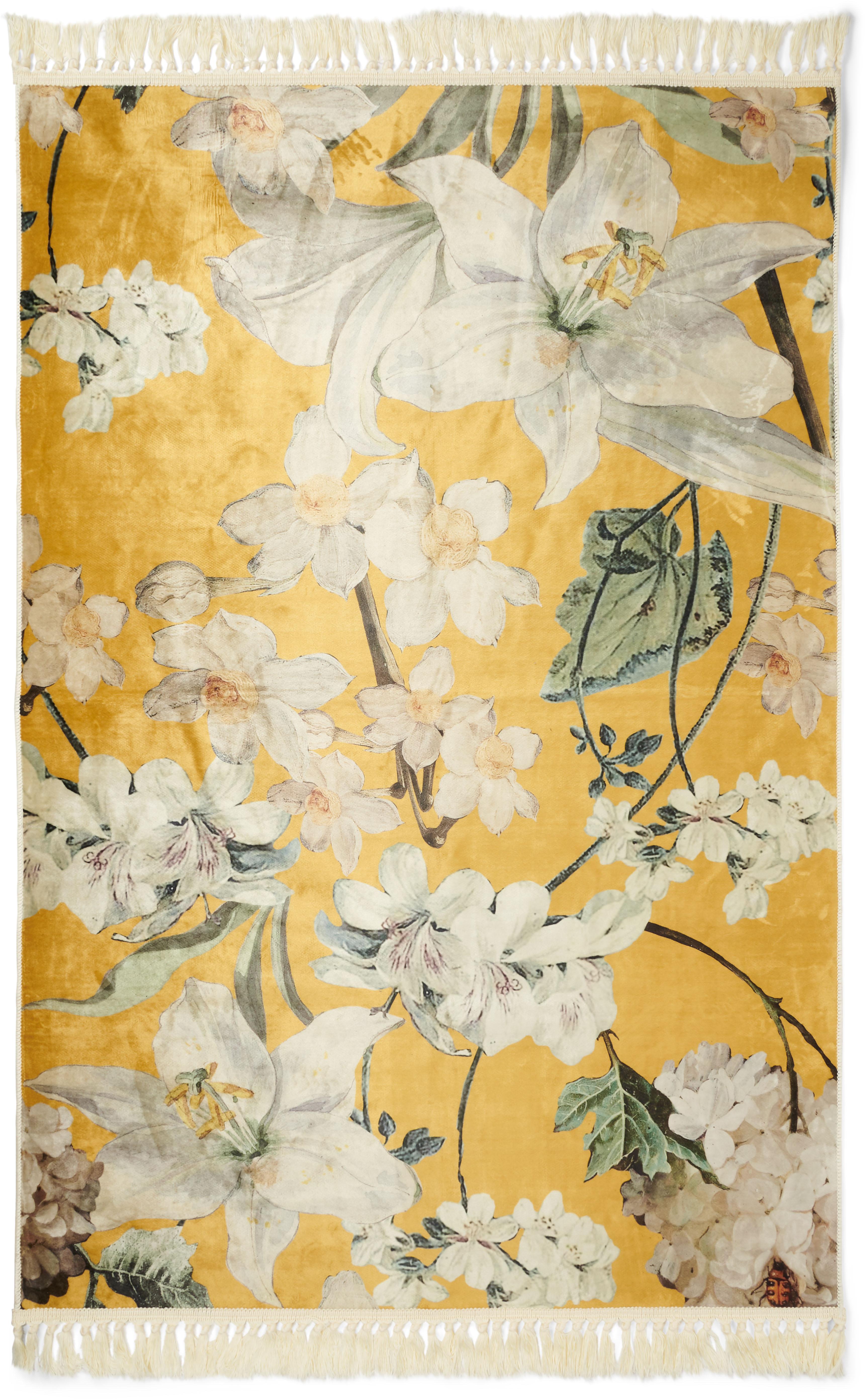 Essenza Teppich Rosalee, rechteckig, 6 mm Höhe, sehr weicher Flor, mit Fran günstig online kaufen