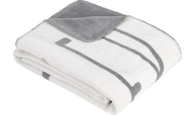 s.Oliver Wohndecke »Jacquard Decke s.Oliver«, schlicht kaufen