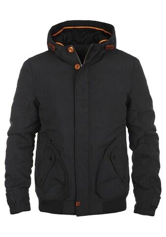 Blend Kurzjacke »Poly«, warme Jacke mit Holzknöpfen kaufen