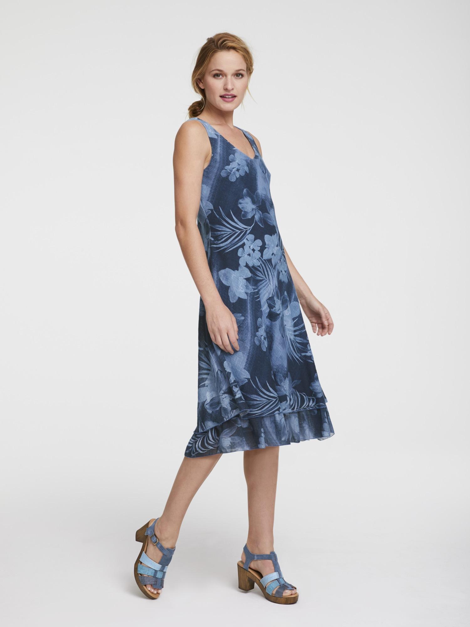 Druckkleid aus Baumwolle | Bekleidung > Kleider > Druckkleider | Linea Tesini By Heine