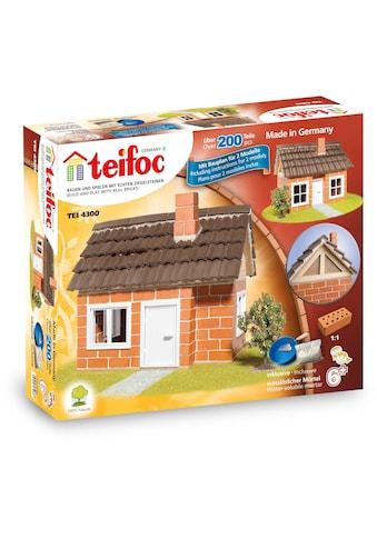 teifoc Konstruktions-Spielset »Fachwerkhaus«, (200 St.), Made in Germany kaufen