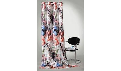Vorhang, »High Fashion«, Weckbrodt, Ösen 1 Stück kaufen