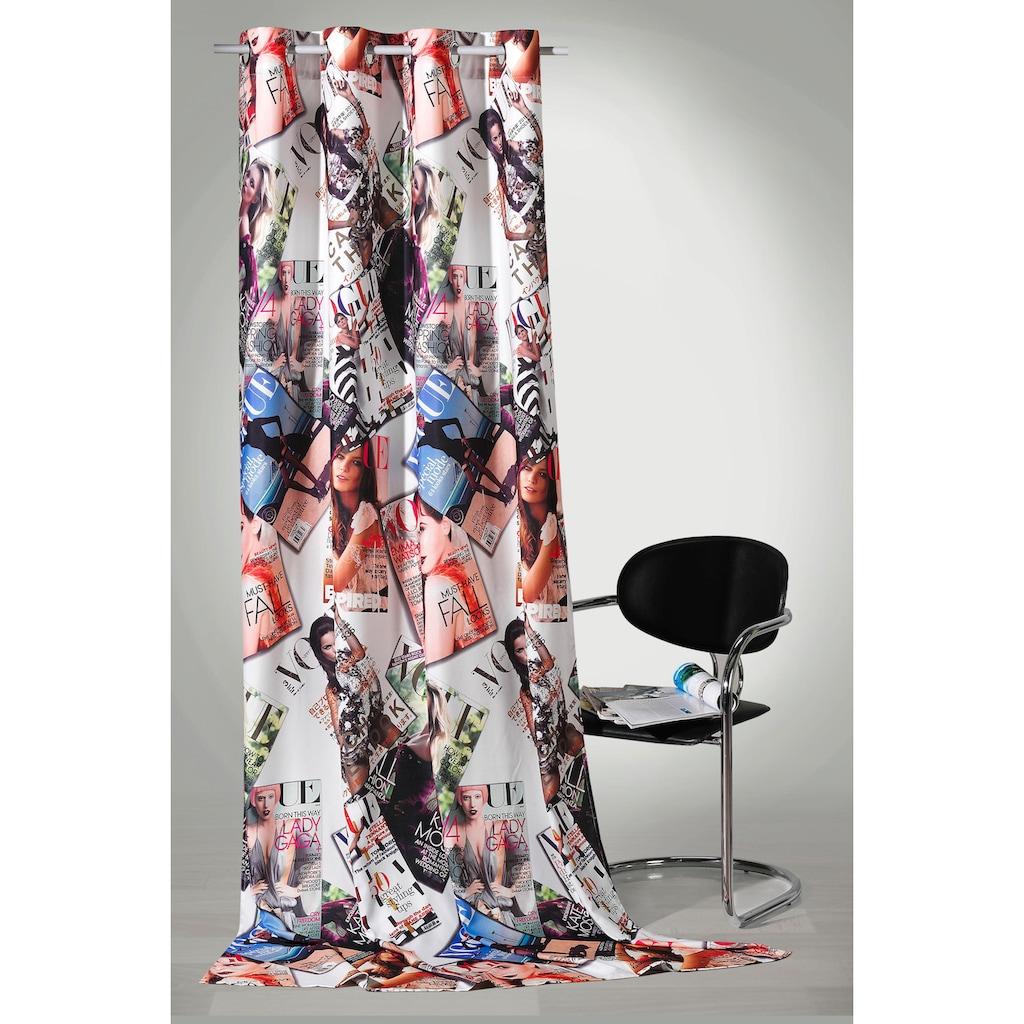 Weckbrodt Vorhang »High Fashion«, HxB: 245x140, Metallösen
