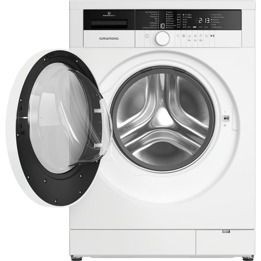 Grundig Waschmaschine »GWO37430WB1«, GWO37430WB1