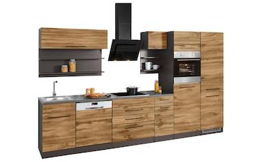 HELD MÖBEL Küchenzeile »Tulsa«, mit E - Geräten, Breite 350 cm kaufen