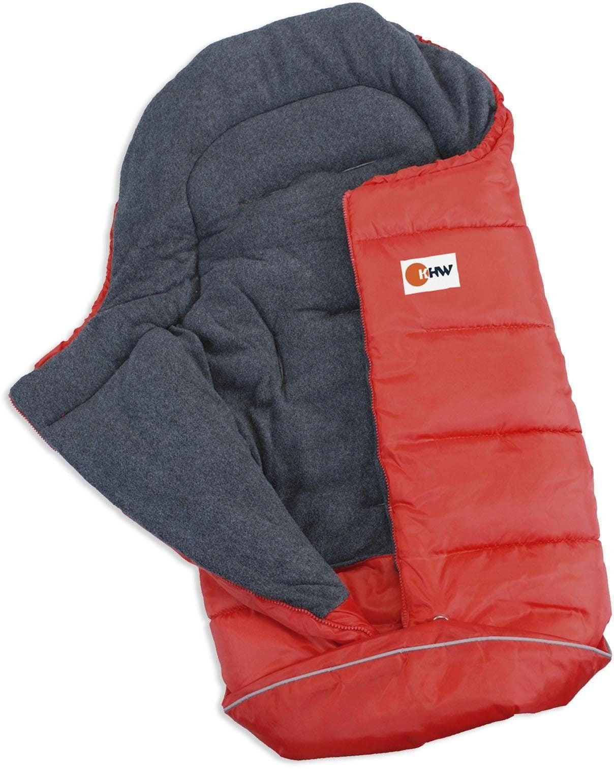 KHW Schlittensack Husky rot Kinder Schlafsäcke Camping Schlafen Outdoor Schlafsack