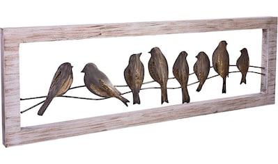 Schneider Wanddekoobjekt »Vögel« kaufen