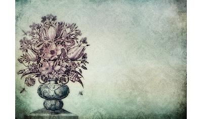 Consalnet Papiertapete »Blumenstrauß in Vase«, floral kaufen