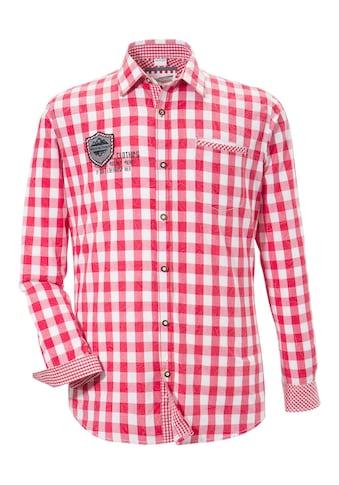 Andreas Gabalier Kollektion Trachtenhemd im Karodesign kaufen