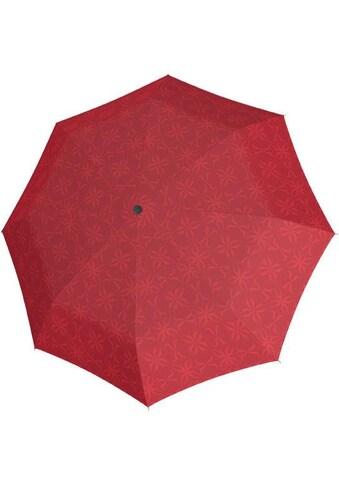 """doppler® Stockregenschirm """"Carbonsteel Long Automatic Bloom, rot"""" kaufen"""