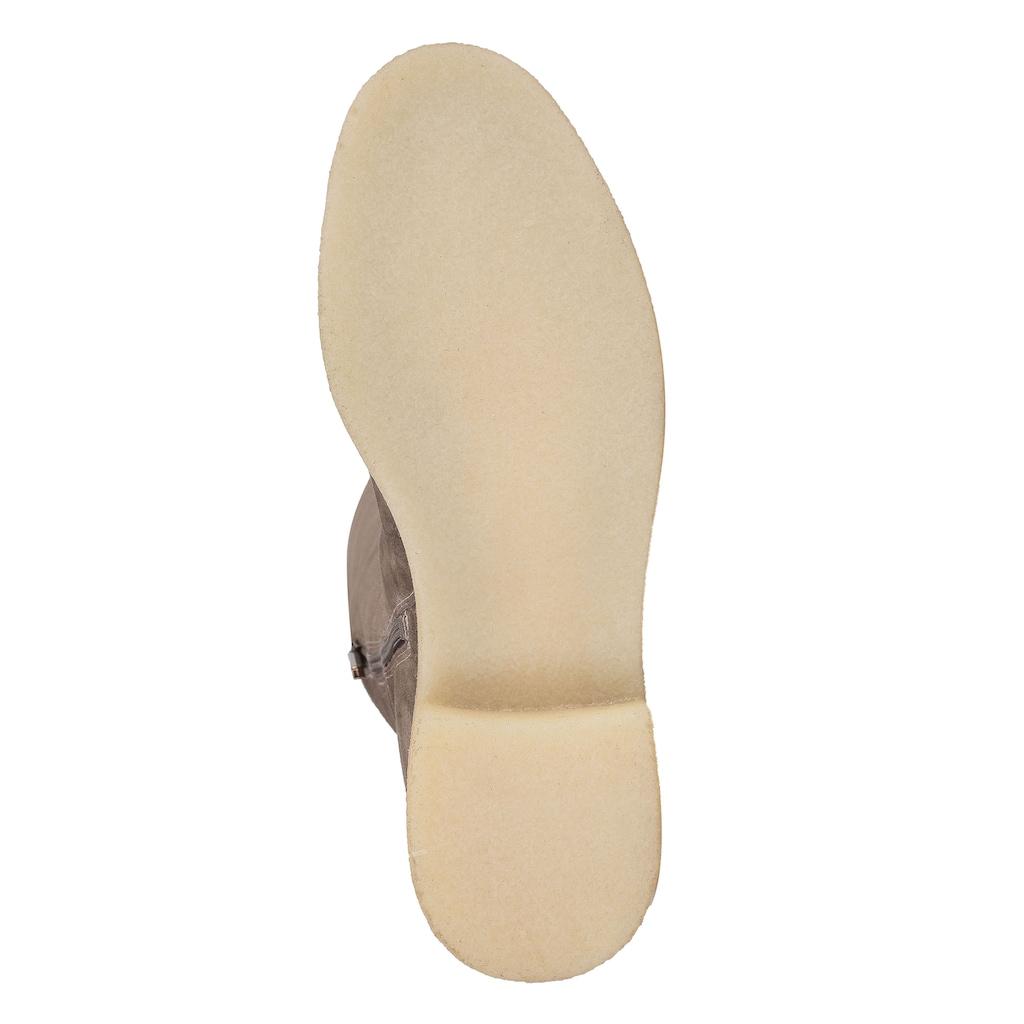 ekonika Stiefel »ALLA PUGACHOVA«, hergestellt aus Velours