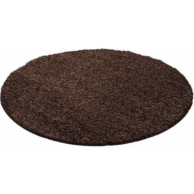 Hochflor-Teppich, »Life Shaggy 1500«, Ayyildiz, rund, Höhe 30 mm, maschinell gewebt