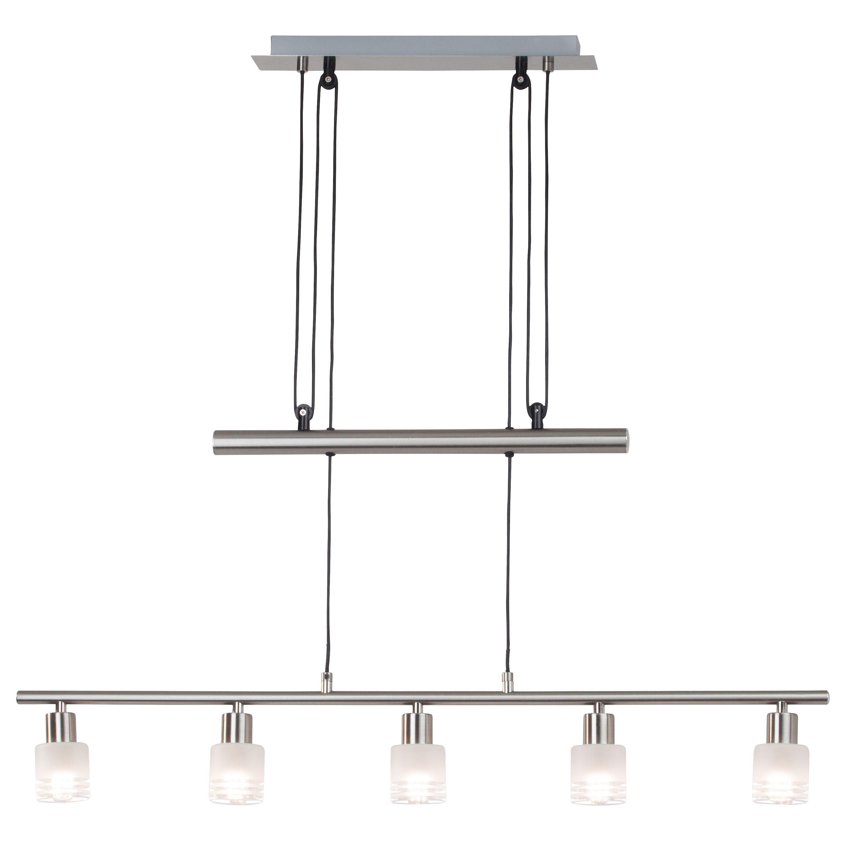Brilliant Leuchten LED Pendelleuchte LEA, E14, LED Hängelampe, LED Hängeleuchte