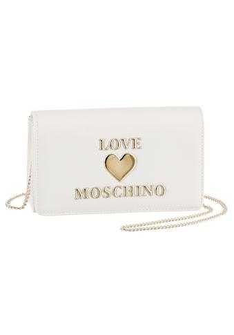 LOVE MOSCHINO Clutch, mit Ketten Umhängeriemen kaufen