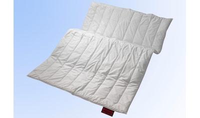Centa-Star Kunstfaserbettdecke »Vital Plus«, leicht, Bezug 100% Baumwolle, (1 St.),... kaufen