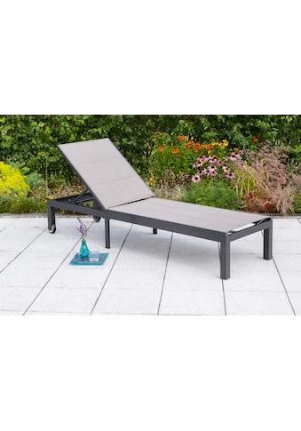 MERXX Gartenliege »Trivero«, Alu/Textil, verstellbar kaufen
