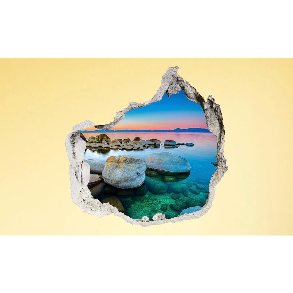 Conni Oberkircher´s Wandsticker »3 D Sticker Beton Green Stone«