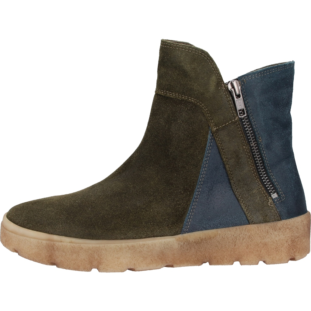 Think! Stiefelette »Veloursleder«