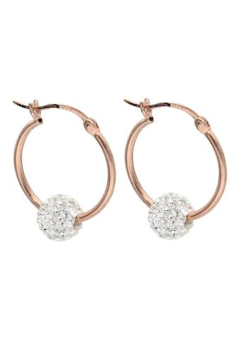 Firetti Paar Creolen »Glamourös feminin, 1,5 mm breit, Glanz, hohl« kaufen