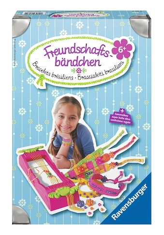 Ravensburger Kreativset »Freundschaftsbändchen«, (Set), Made in Europe kaufen