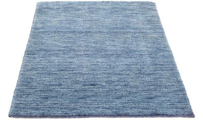 morgenland Wollteppich »Gabbeh Teppich handgewebt blau«, rechteckig, 18 mm Höhe kaufen