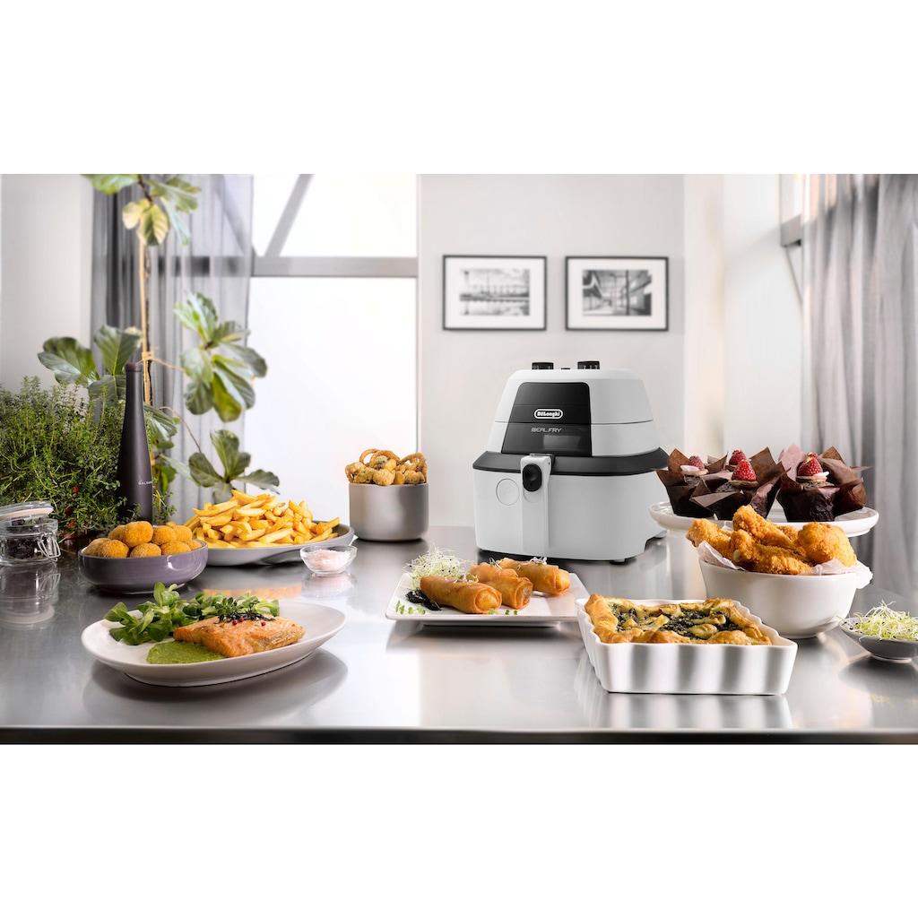 De'Longhi Heissluftfritteuse »IdealFry FH 2133«, 1400 W, Multicooker mit 4-in-1 Funktion, auch zum Brotbacken, Fassungsvermögen 1,25 kg