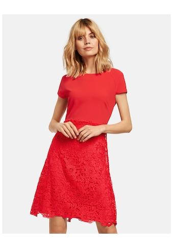 Taifun Kleid Gewirke »Cocktailkleid mit Spitze« kaufen