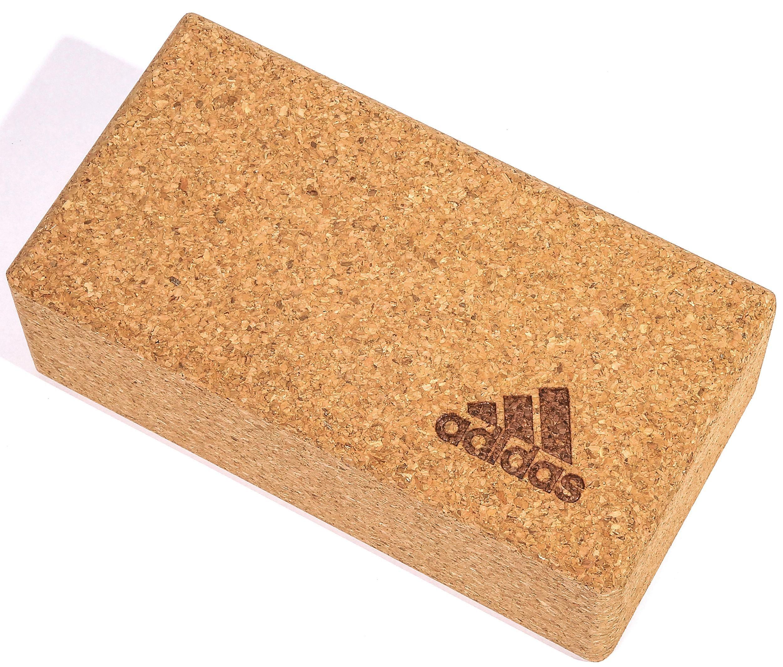adidas Performance Yogablock Cork Yoga Block Technik & Freizeit/Sport & Freizeit/Fitnessgeräte/Fitness-Kleingeräte/Yogablöcke