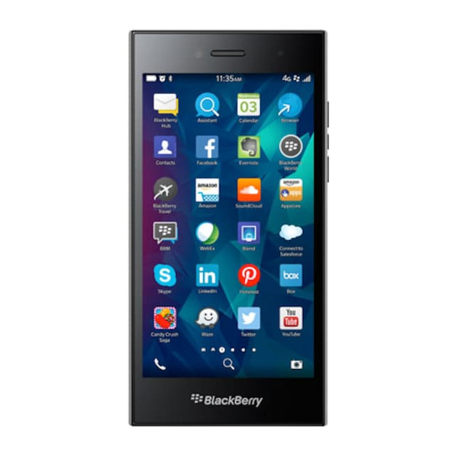 Blackberry Leap Smartphone (12,7 cm / 5 Zoll, 16 GB, 8 MP Kamera)