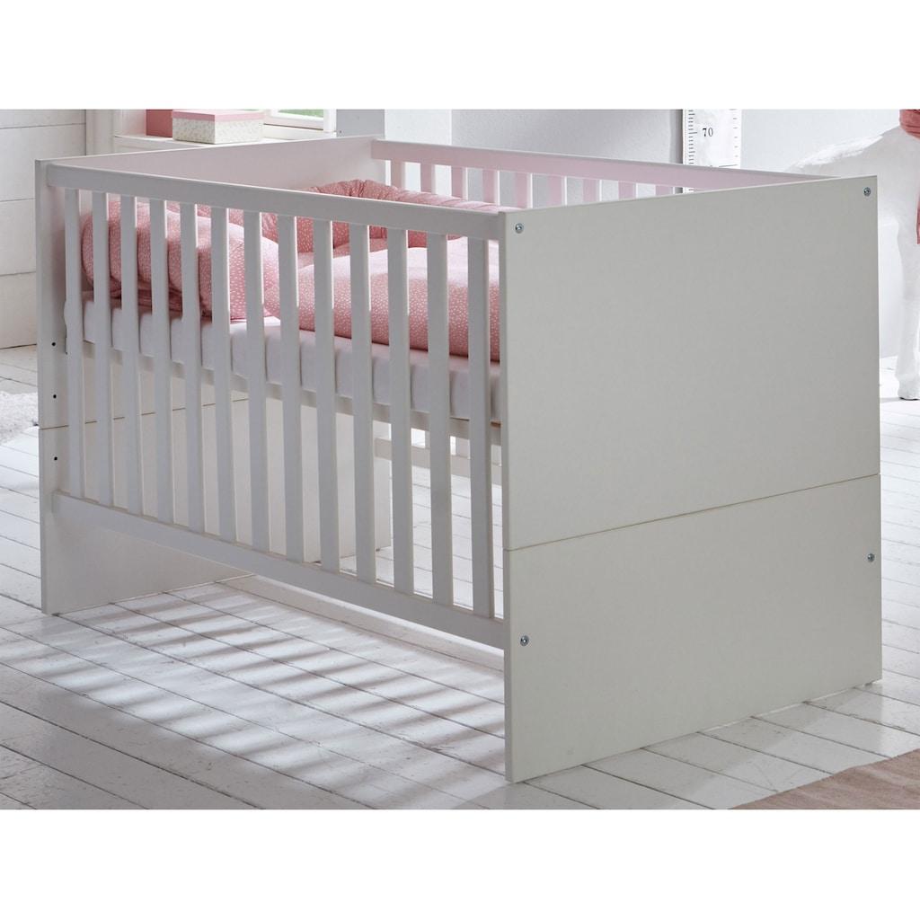 arthur berndt Babymöbel-Set »Amal«, (Spar-Set, 2 St.), mit Kinderbett und Wickelkommode; Made in Germany
