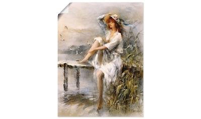 Artland Wandbild »Wasserseite« kaufen
