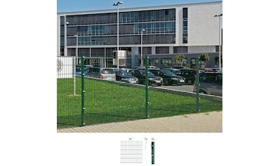 GAH Alberts Doppelstabmattenzaun, 120 cm hoch, 2 Matten für 4 m, 3 Pfosten kaufen