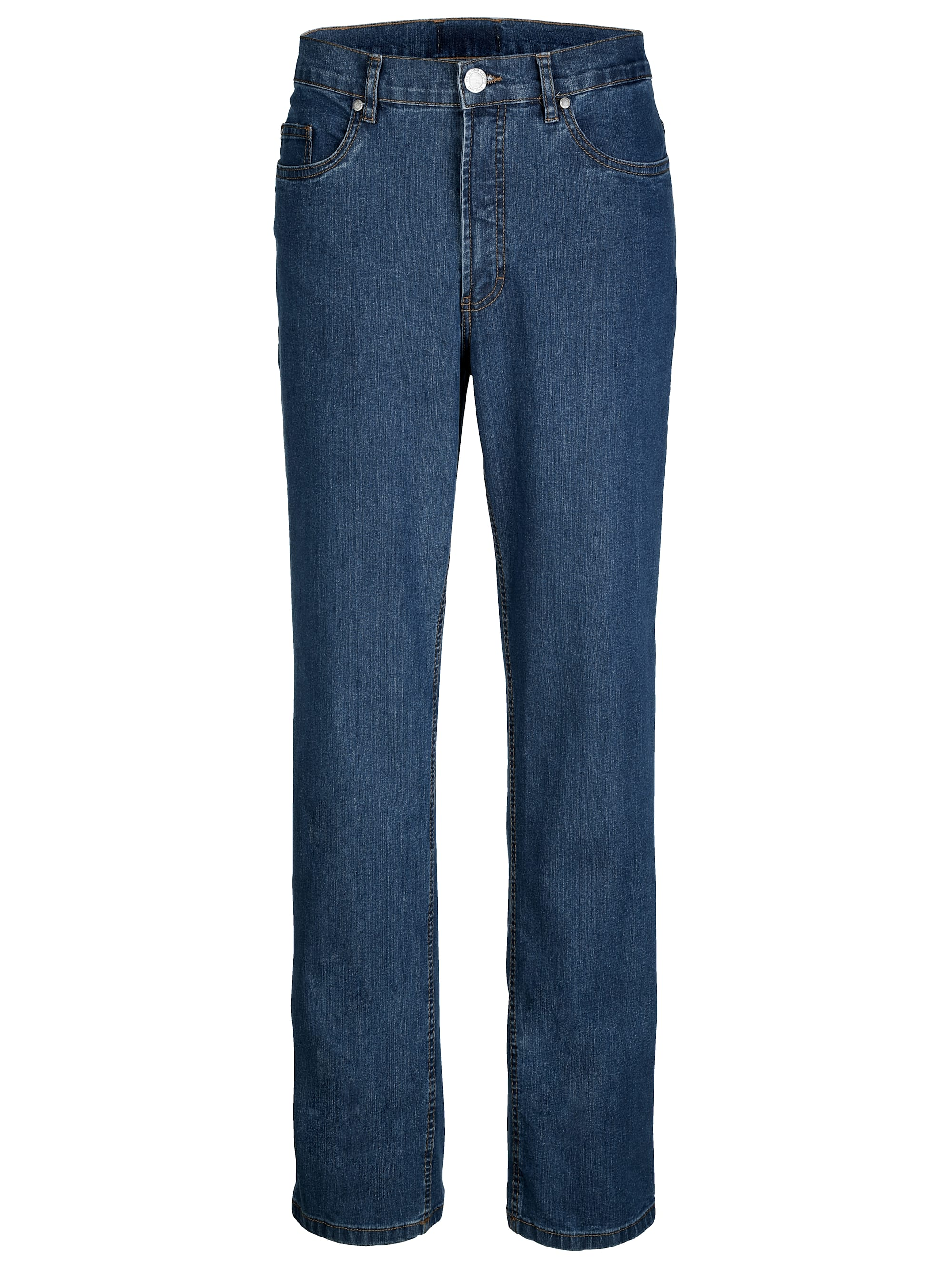 Roger Kent 5-Pocket Jeans mit Gürtelschlaufen | Bekleidung > Jeans > Sonstige Jeans | Blau | Jeans - Baumwolle - Polyester | ROGER KENT
