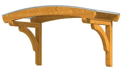 Skanholz Rundbogenvordach »Rostock«, BxTxH: 174x80x236 cm kaufen