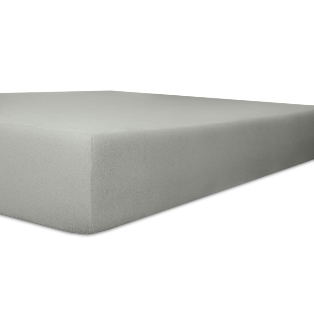 Kneer Spannbettlaken »Vario-Stretch-Topper«, mit Tunnelsaum