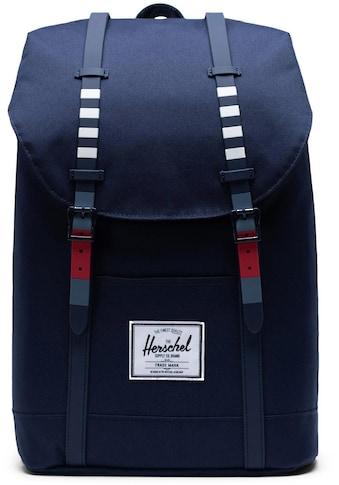 Herschel Laptoprucksack »Retreat  -  Malibu Stripe Peacoat« kaufen