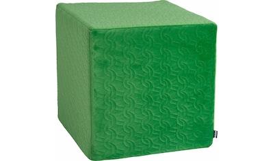 H.O.C.K. Sitzwürfel »Soft Nobile«, 45/45/45 cm kaufen