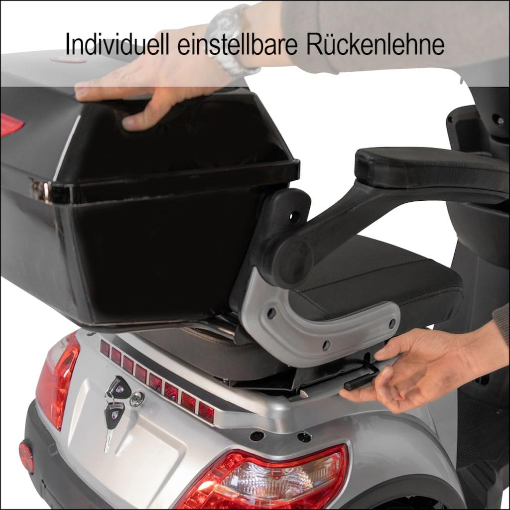 Didi THURAU Edition Elektromobil »3-Rad Bologna mit Wind-und Wetterschutz 25 km/h«, 1000 W, 25 km/h, (mit Topcase)