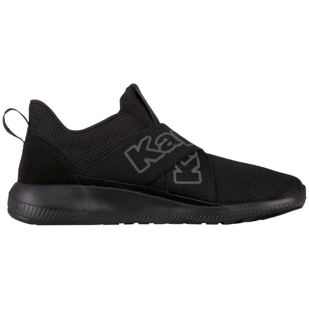 Kappa Sneaker »FASTER II«, mit breiten, gekreuzten Elastikbändern