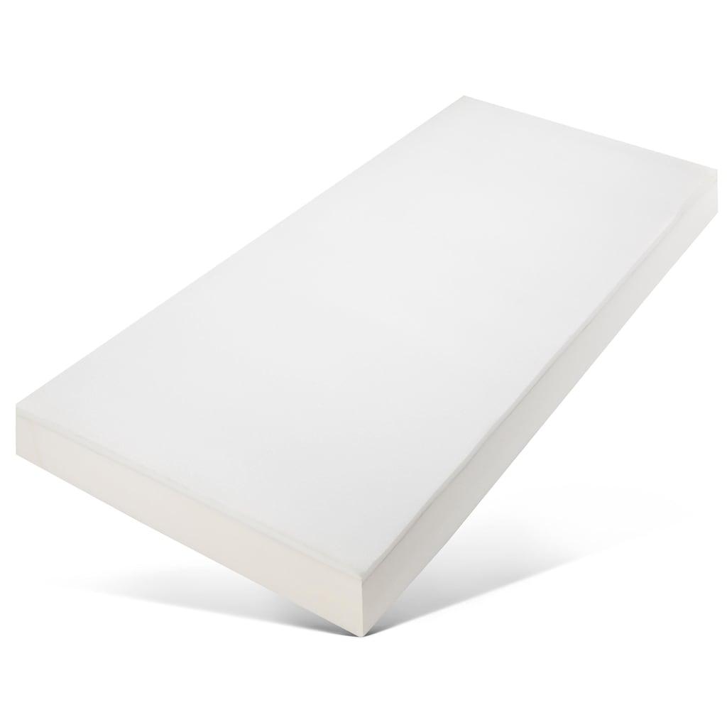 my home Taschenfederkernmatratze »Lino«, 800 Federn, (1 St.), mit schönem Seitenbezug und 800 Taschenfedern für eine optimale Körperabfederung, schnelle Lieferung