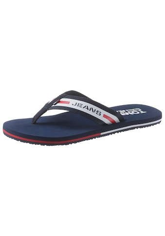 TOMMY JEANS Zehentrenner »TOMMY JEANS BEACH SANDAL« kaufen